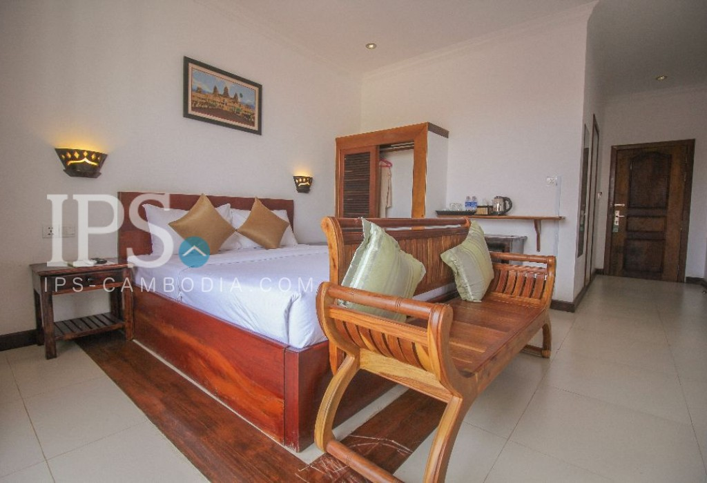18 Room Boutique Hotel Business for Sale - Siem Reap