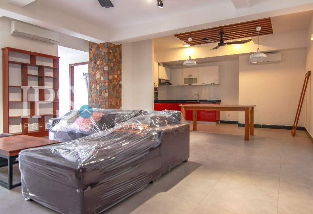 1 Bedroom Serviced Apartment for Rent - Tonle Bassac