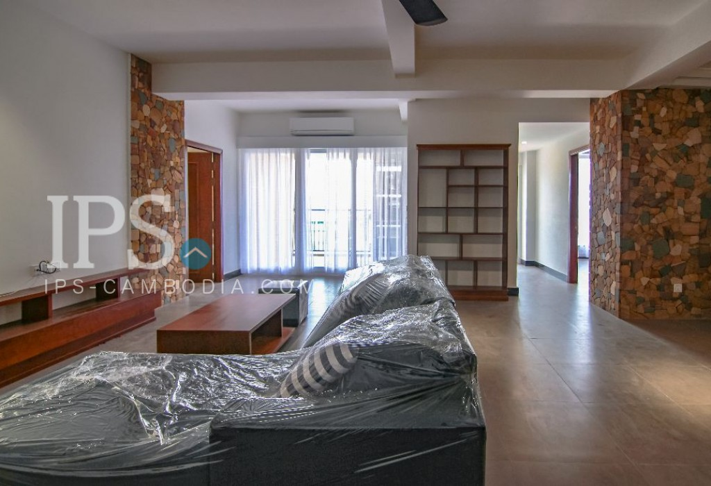 Tonle Bassac - 2 Bedroom Serviced Apartment for Rent