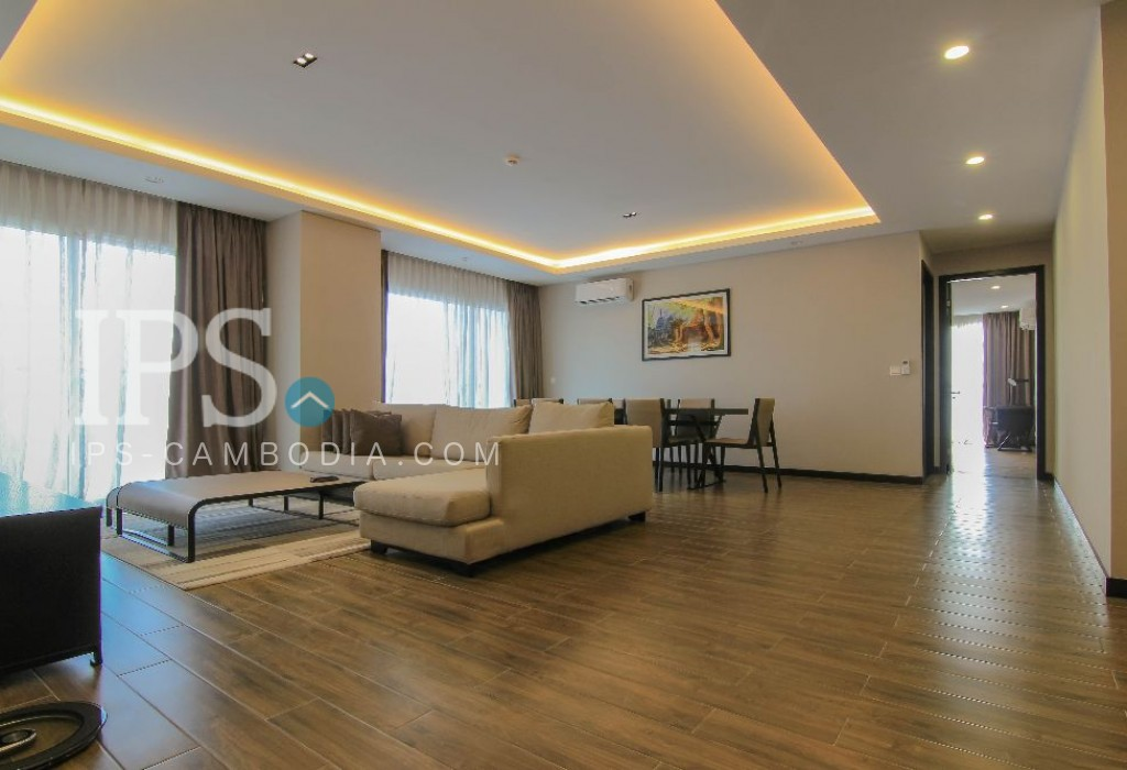 4 Bedroom Apartment For Rent - Tonle Bassac