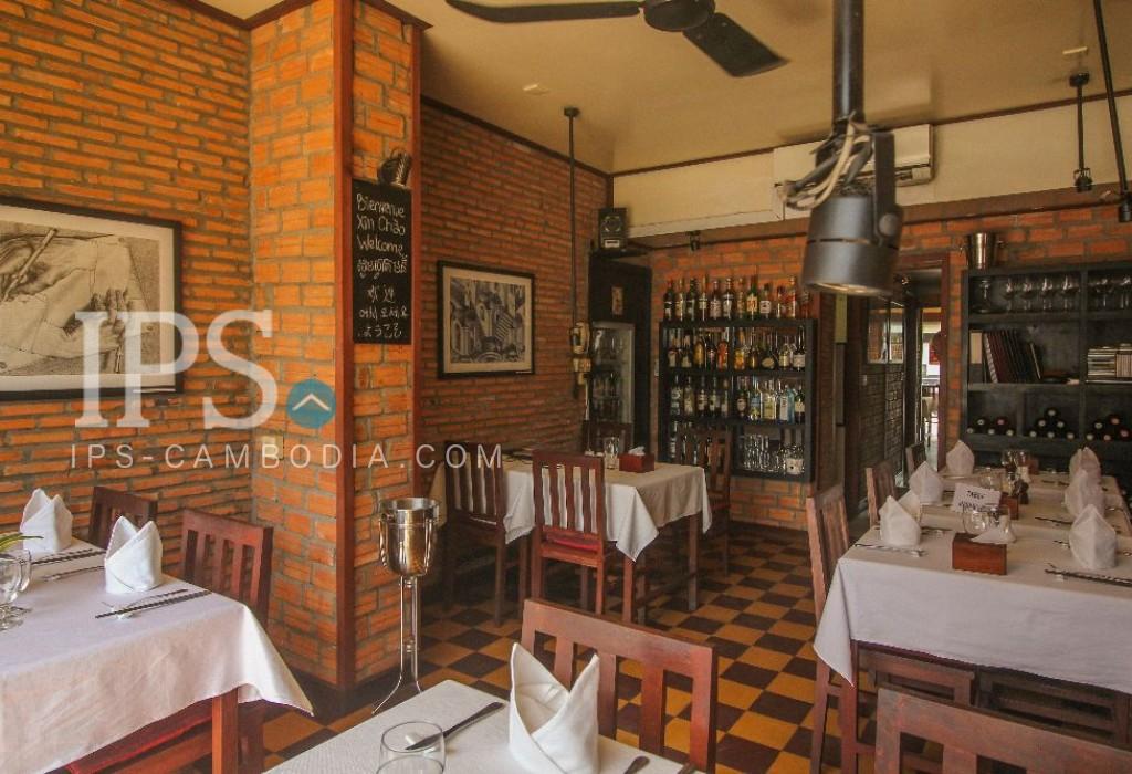 Profitable Restaurant Business For Sale - Siem Reap