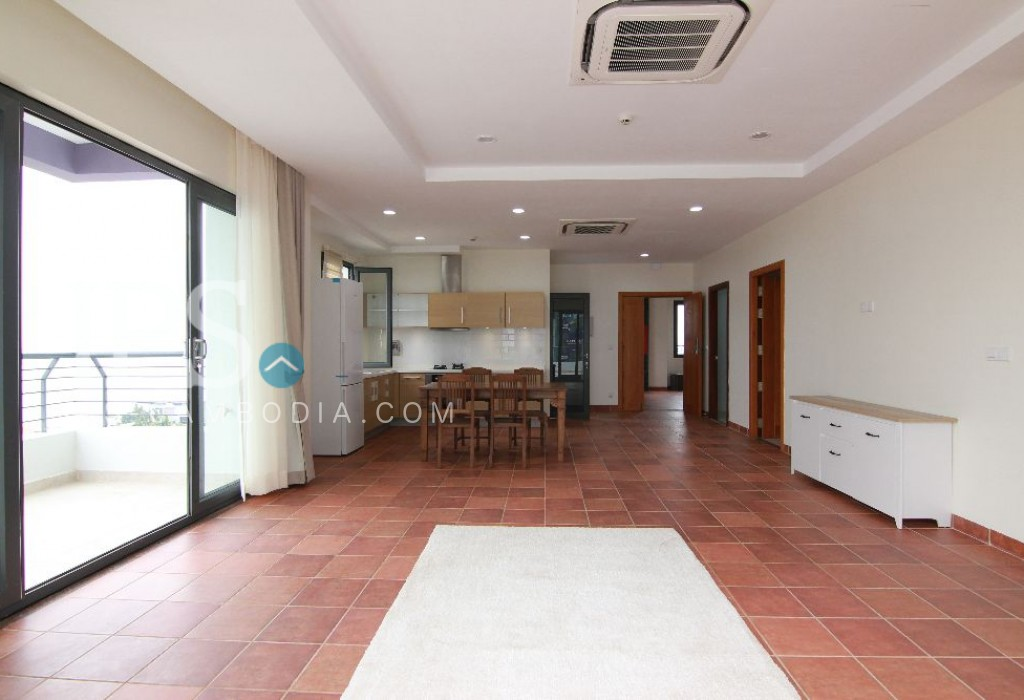 1 Bedroom Penthouse with Riverviews for Rent - Chroy Changvar