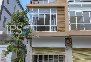 3 Storey Townhouse for Rent - Chbar Ampov, Phnom Penh