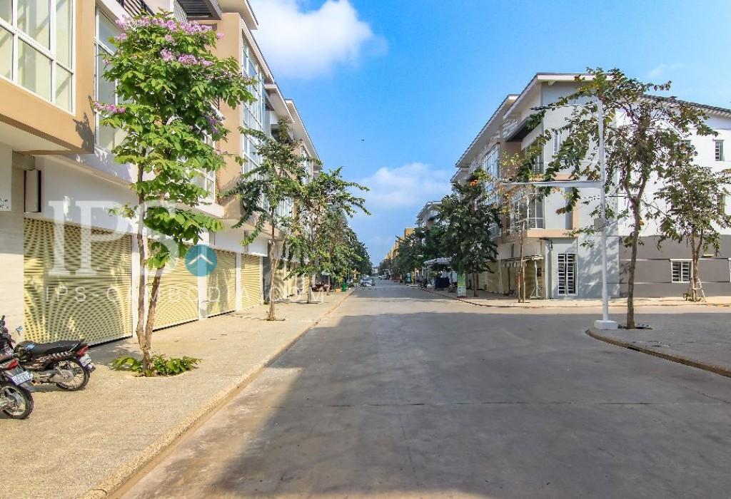 3 Storey Townhouse for Rent - Chbar Ampov