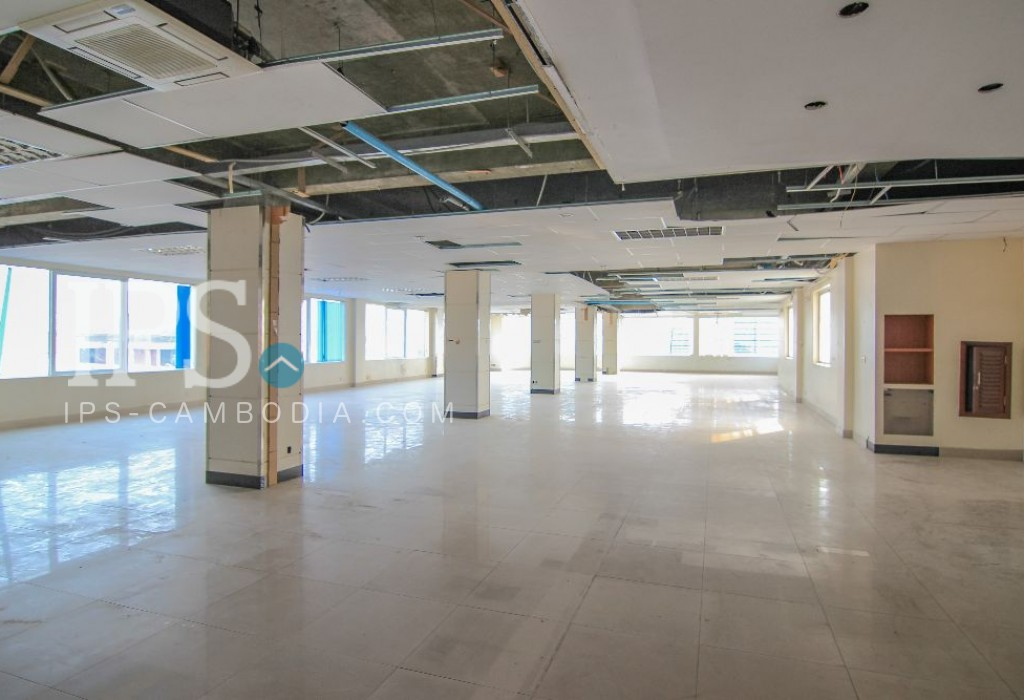 Commercial Office Space 400 sqm. for Rent - BKK1