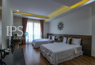 Twin Bed Studio Flat for Rent - BKK3  thumbnail