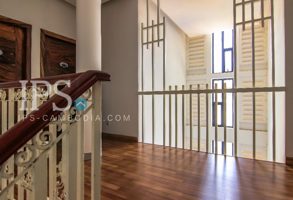 Twin Bed Studio Flat for Rent - BKK3