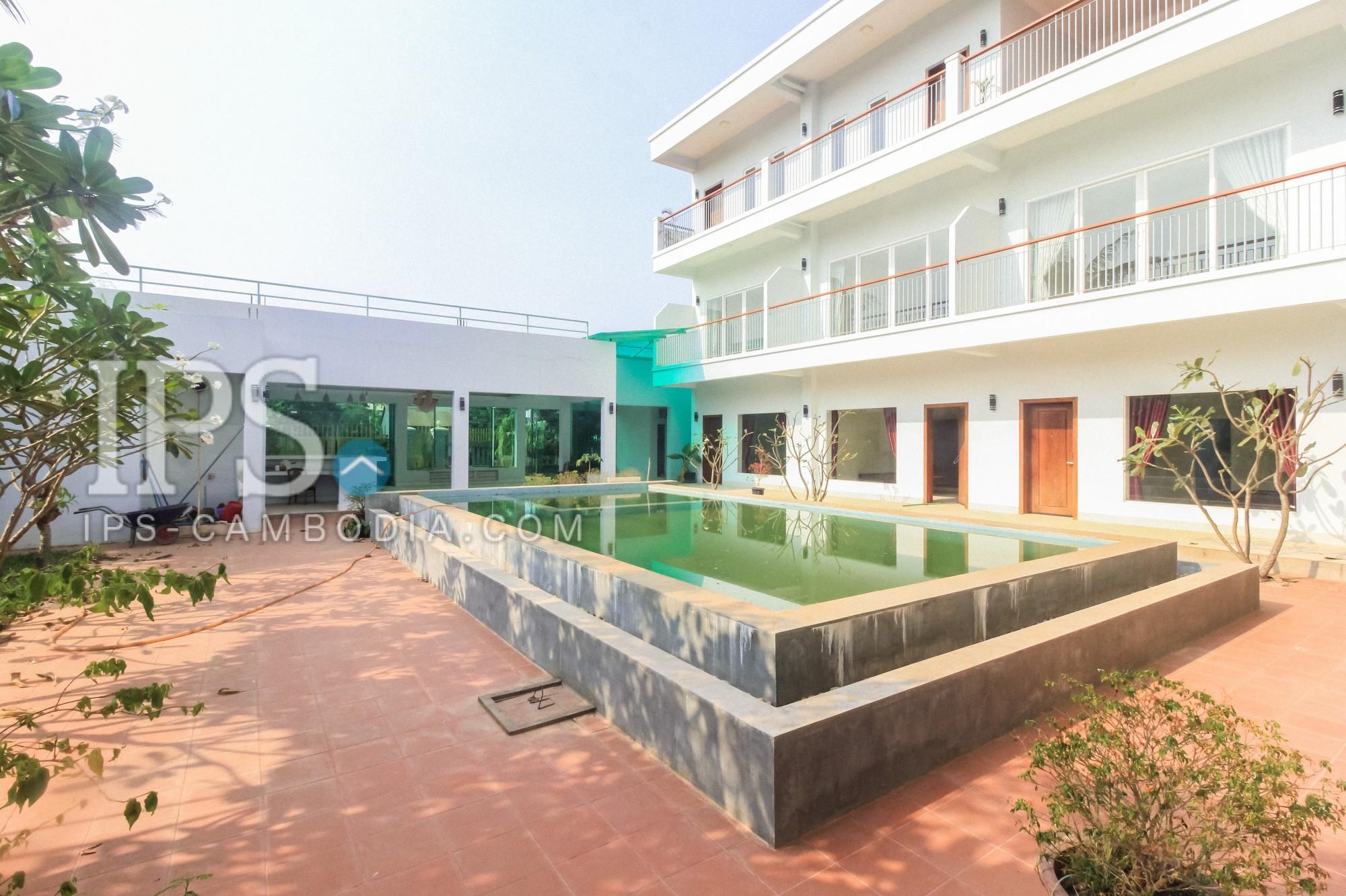 Siem Reap Apartment Building For Rent - 19 Units (1 Bedroom Flats)