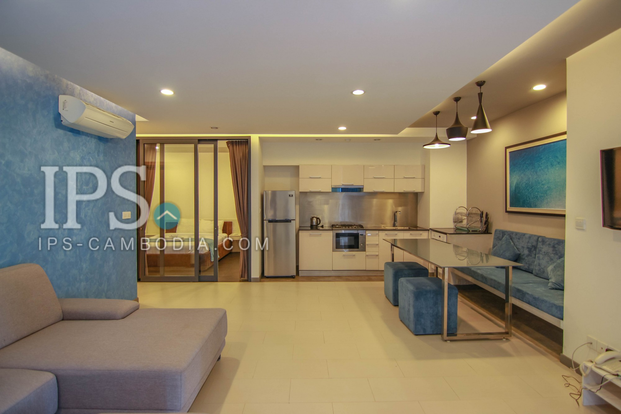 3 Bedroom Condo For Sale in Chroy Changvar-Phnom Penh
