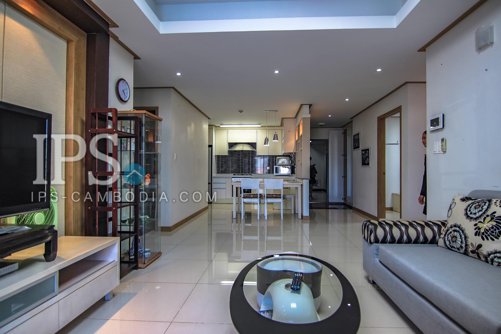 2 Bedroom Flat + Study for Rent - Toul Kork