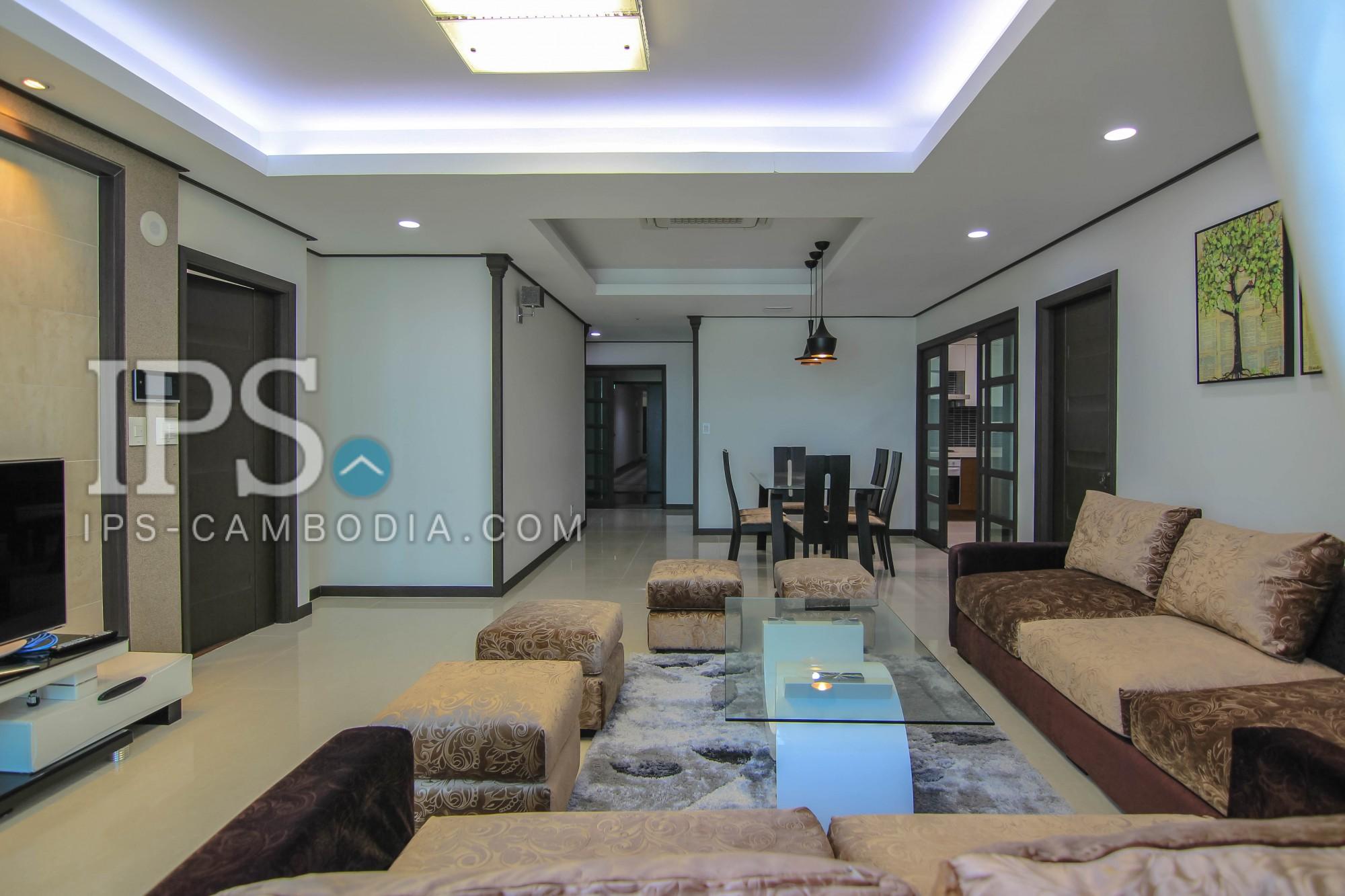 4 Bedroom Apartment/Flat For Rent - BKK1, Phnom Penh