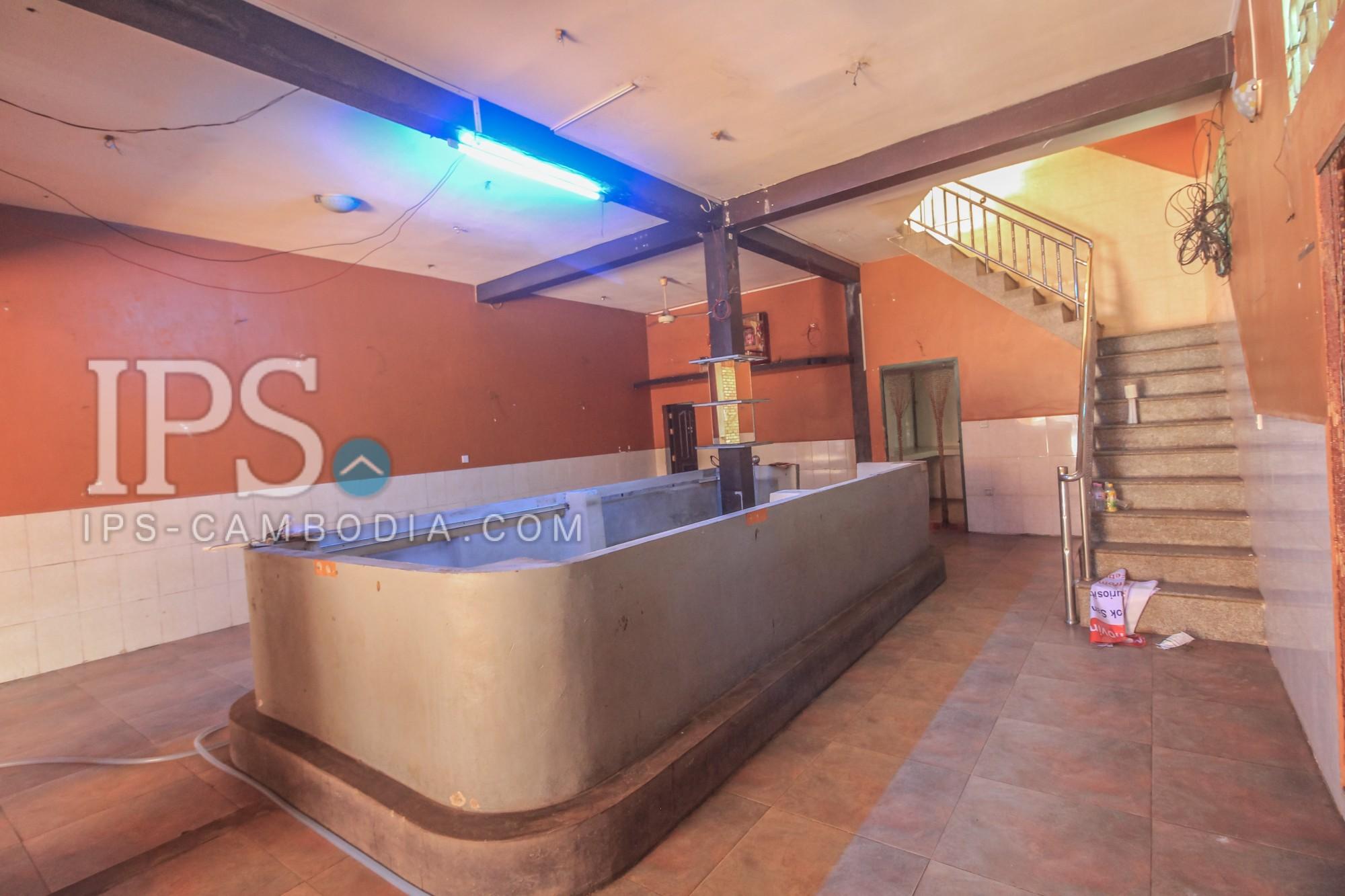 8.5m x 17m Shophouse for Rent - Siem Reap