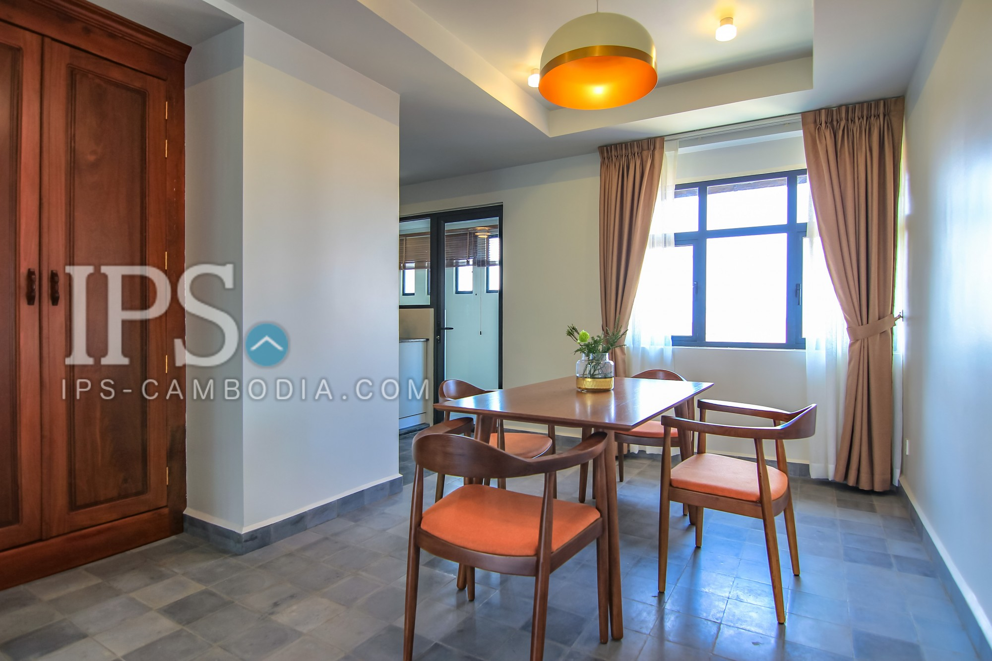 1 Bedroom Penthouse for Rent - Wat Phnom