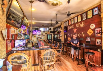 Restaurant and Guesthouse Business for Sale - Daun Penh