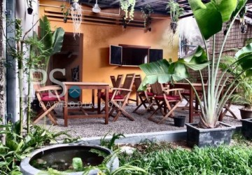 Vegetarian Restaurant Business For Sale - Wat Bo, Siem Reap