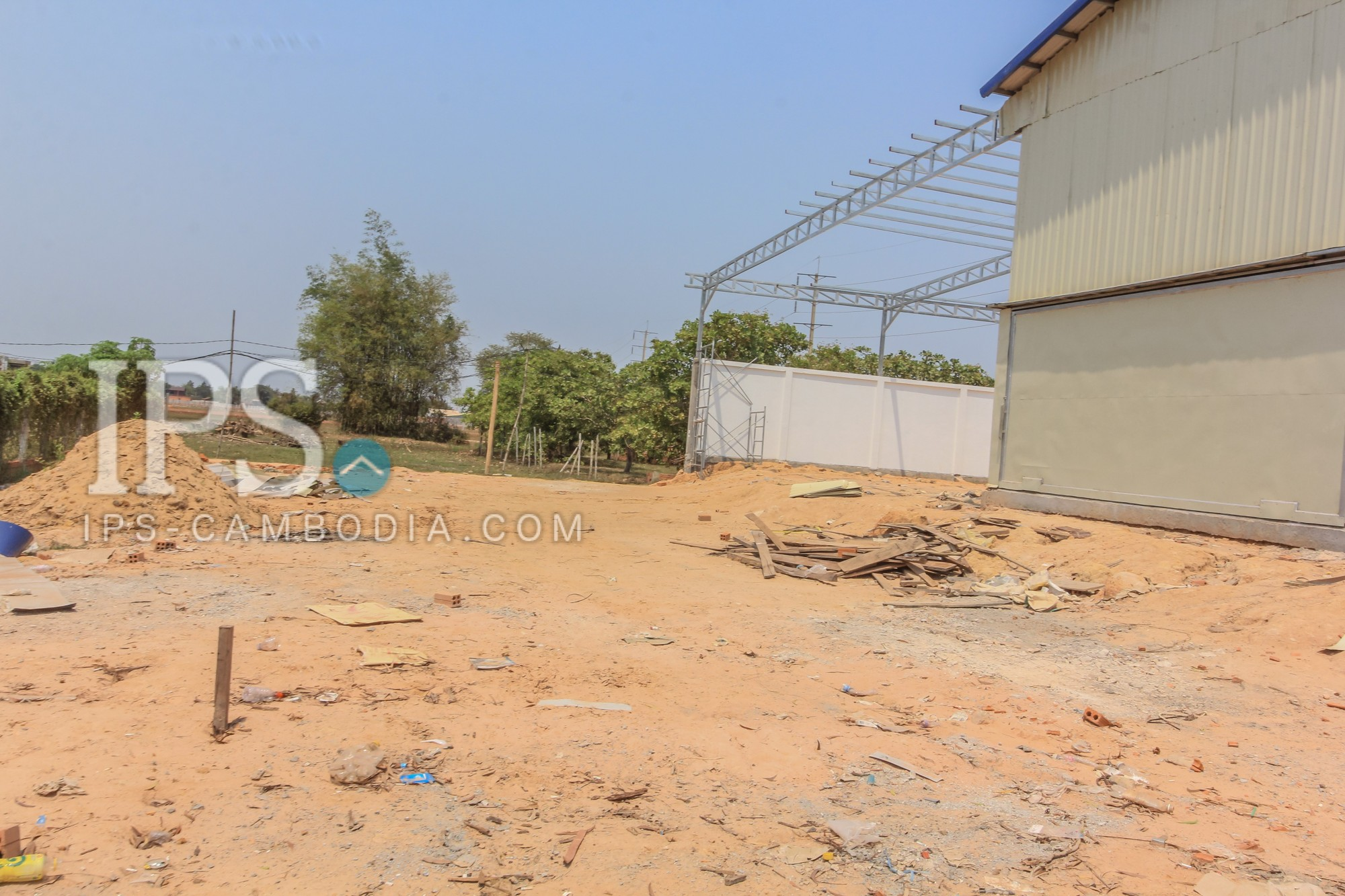 1918.75 sqm. Warehouse and Land For Sale - Siem Reap