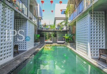 4 Star Boutique Hotel with 16 Bedrooms For Rent - Siem Reap