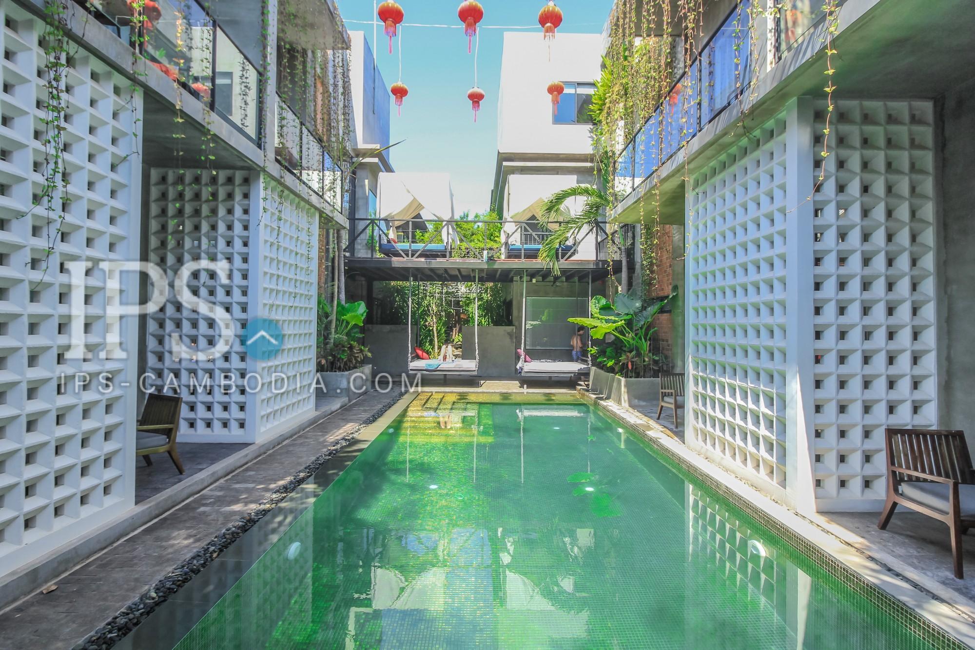 4-Star 16 Bedroom Boutique Hotel For Rent - Sala Kamreuk, Siem Reap