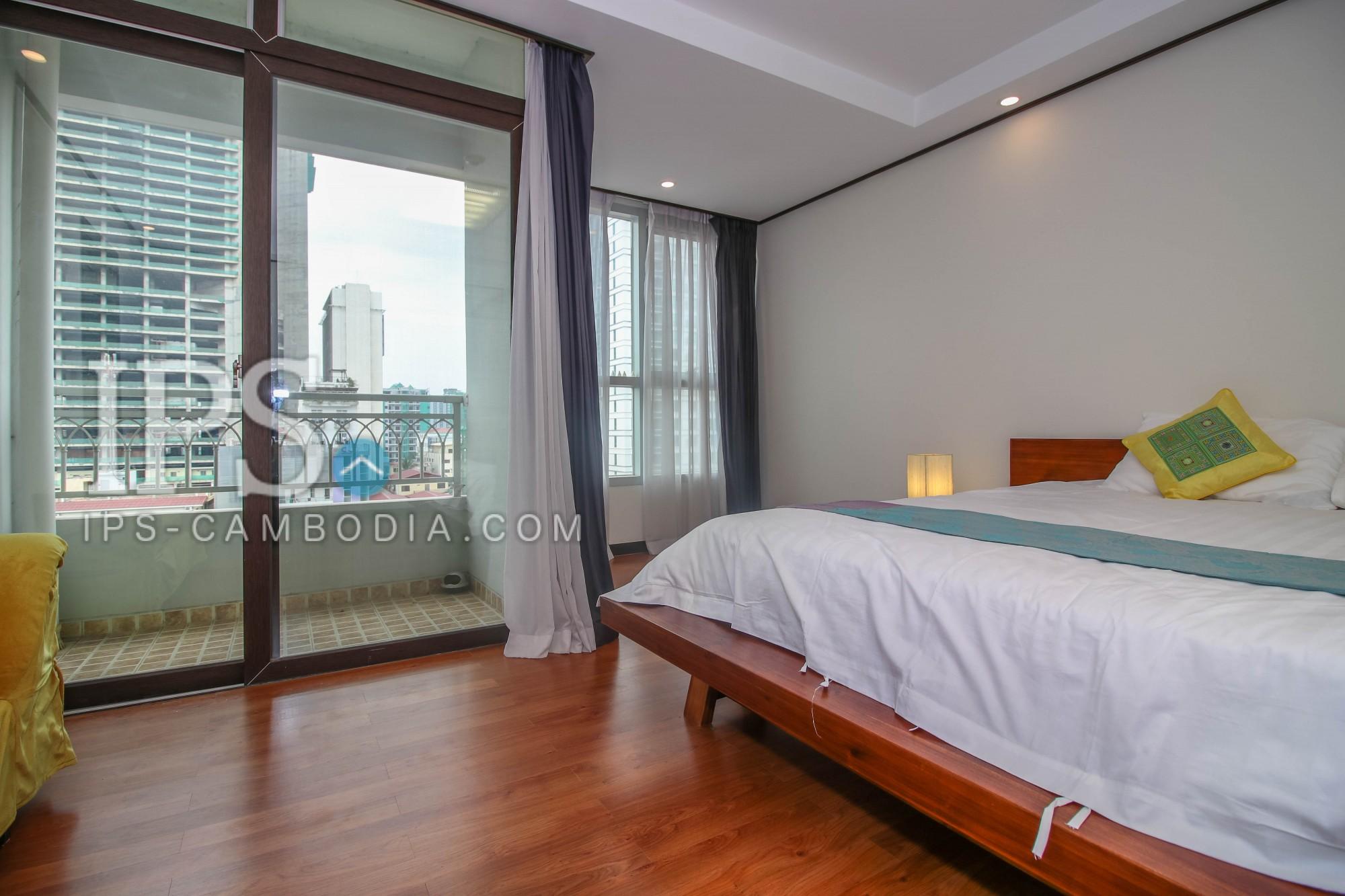 3 Bedroom Apartment For Rent - BKK1 along Monivong Blvd.