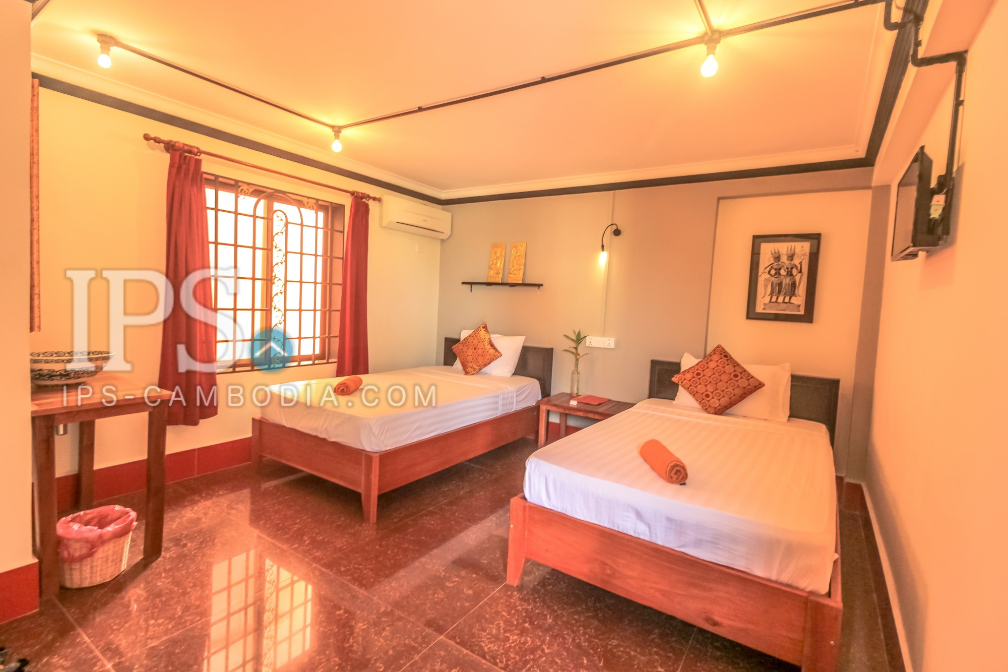 Business Guest House 16BR For Sale - Siem Reap, Night Market Area