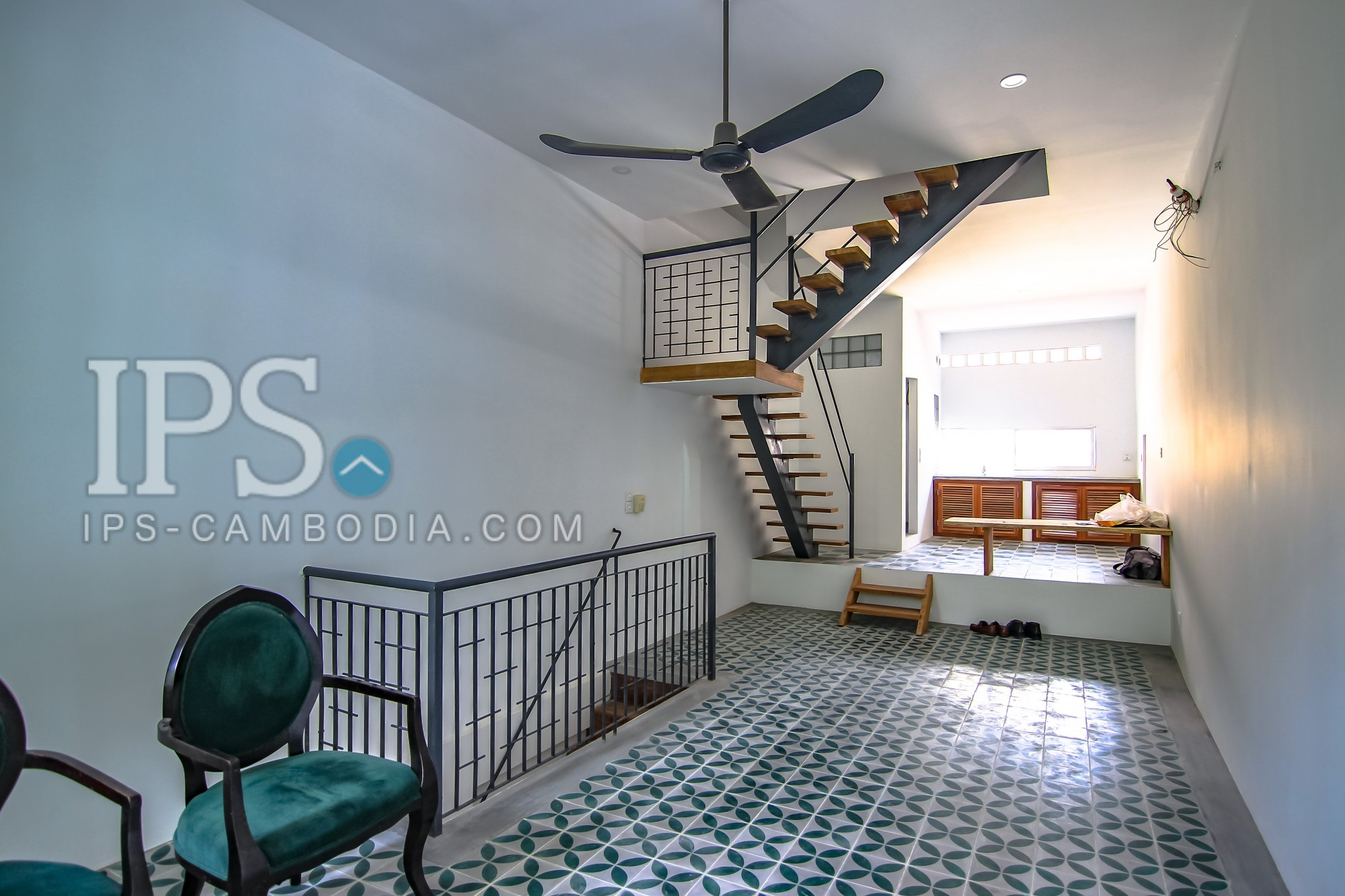2 Bedroom Duplex Flat for Rent -  Sothearos Blvd.