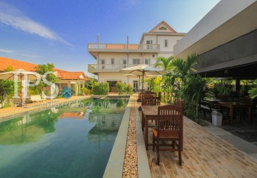 Potential 34 Room Guesthouse For Rent - Svay Dong Kom, Siem Reap