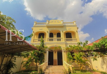Colonial Style 1 Bedroom Apartment For Rent- Siem Reap