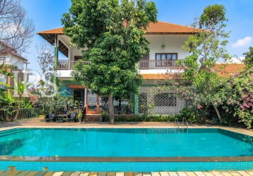 French Colonial Villa for Rent -  Chroy Changva