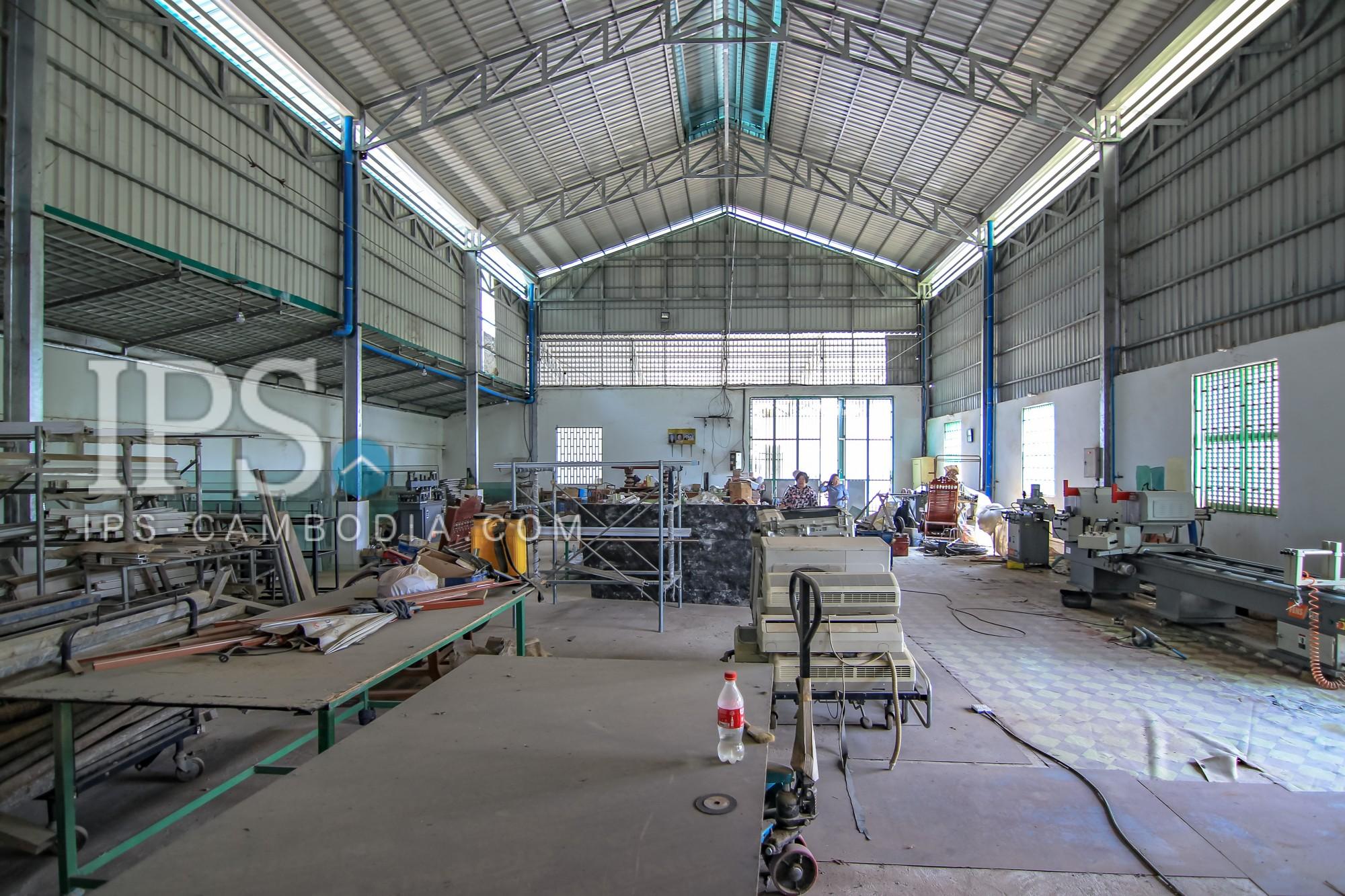 Commercial Warehouse For Rent - Phnom Penh - Hanoi Blvd (1019)