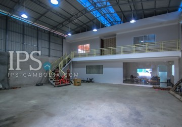 954 Sqm Warehouse and Land For Sale - Teuk Thla , Phnom Penh
