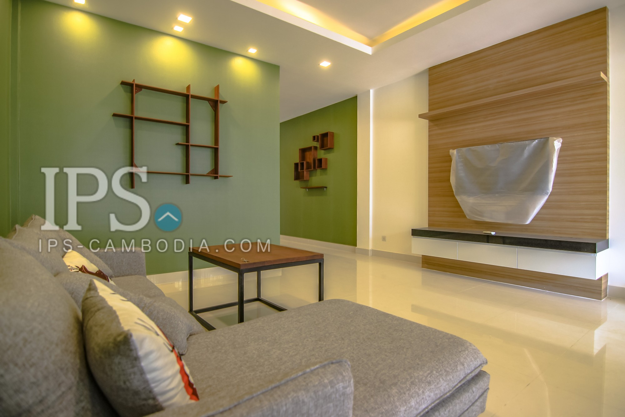 4 Bedroom Link-House For Rent - Phnom Penh Thmey