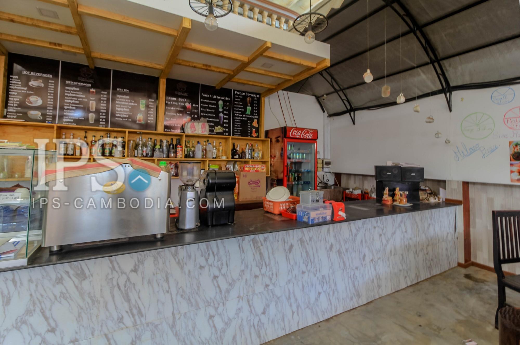520 sqm. Restaurant Space For Rent - Sok San Road, Siem Reap
