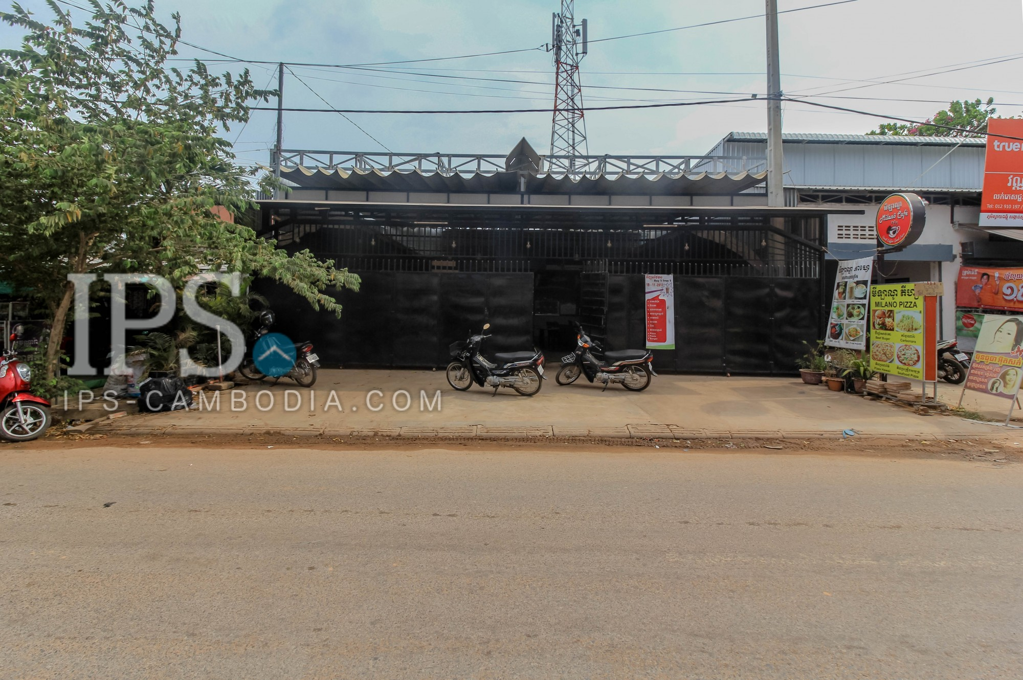 420 Sqm Restaurant Space For Sale - Sok San Road, Siem Reap