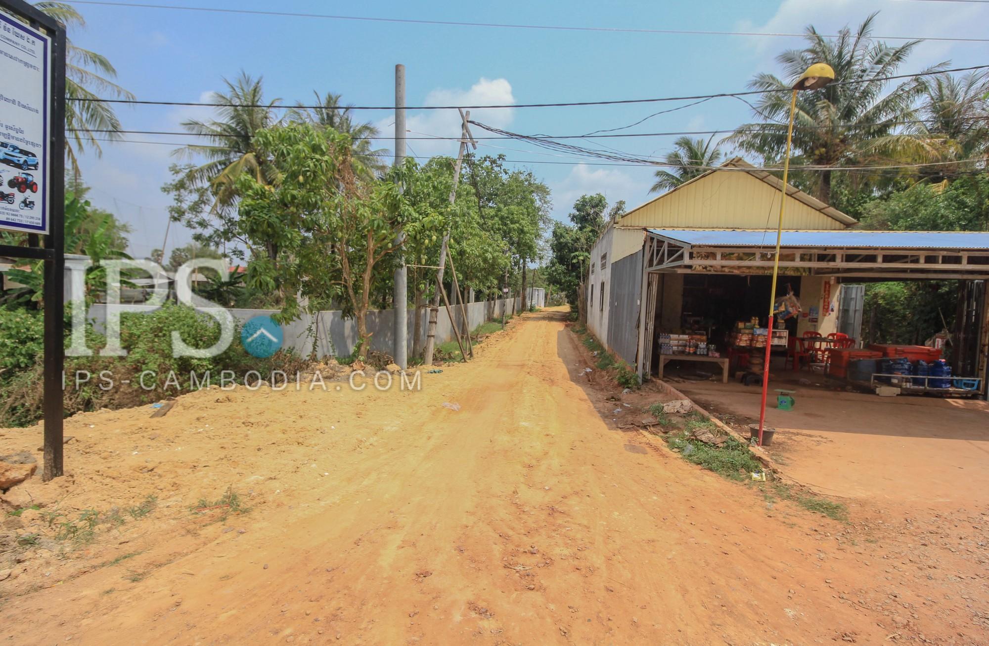 250 sqm. Land For Sale - Chreav, Siem Reap