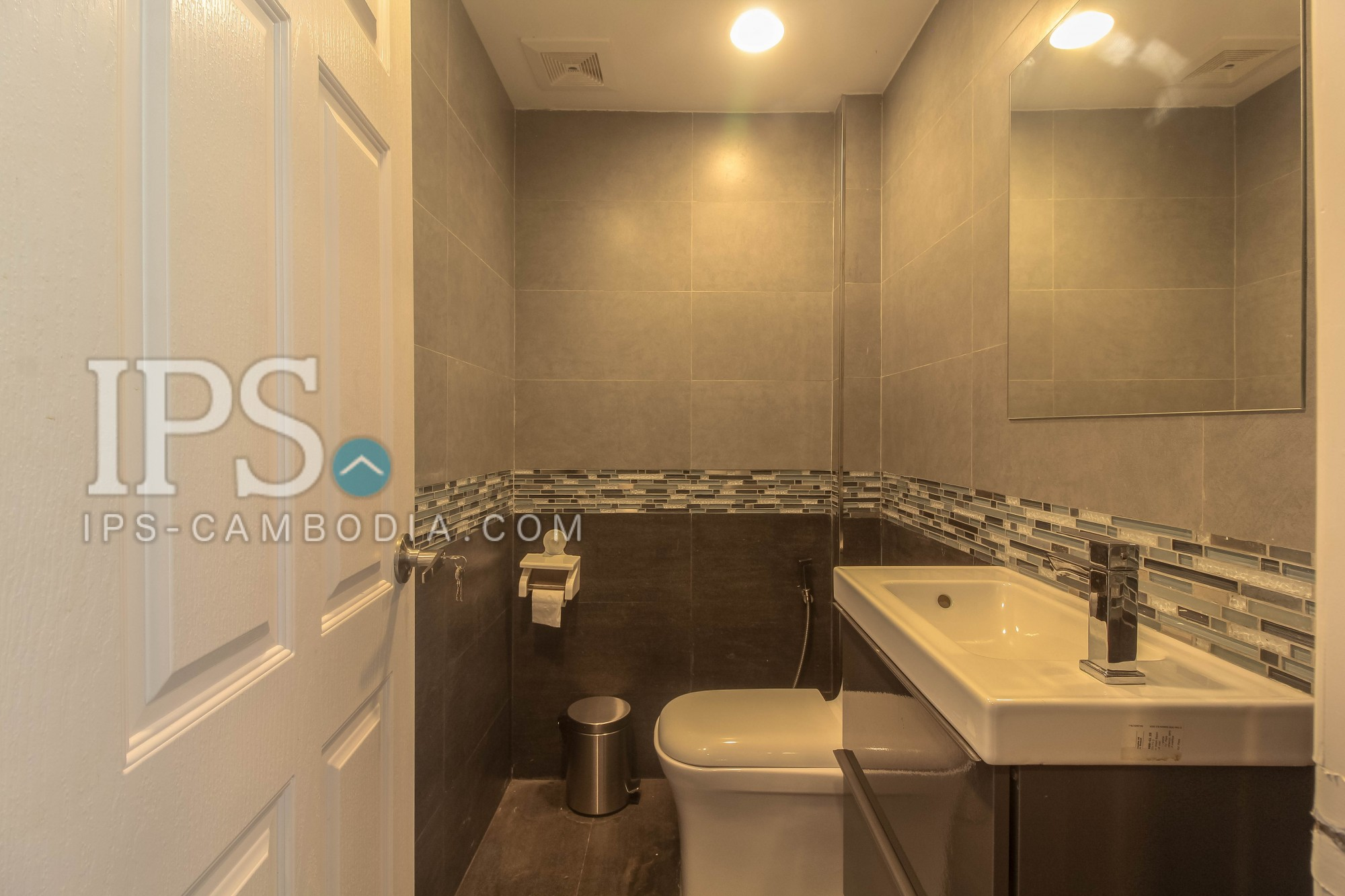 Western Style 1 Bedroom Apartment For Rent -Night Market, Siem Reap
