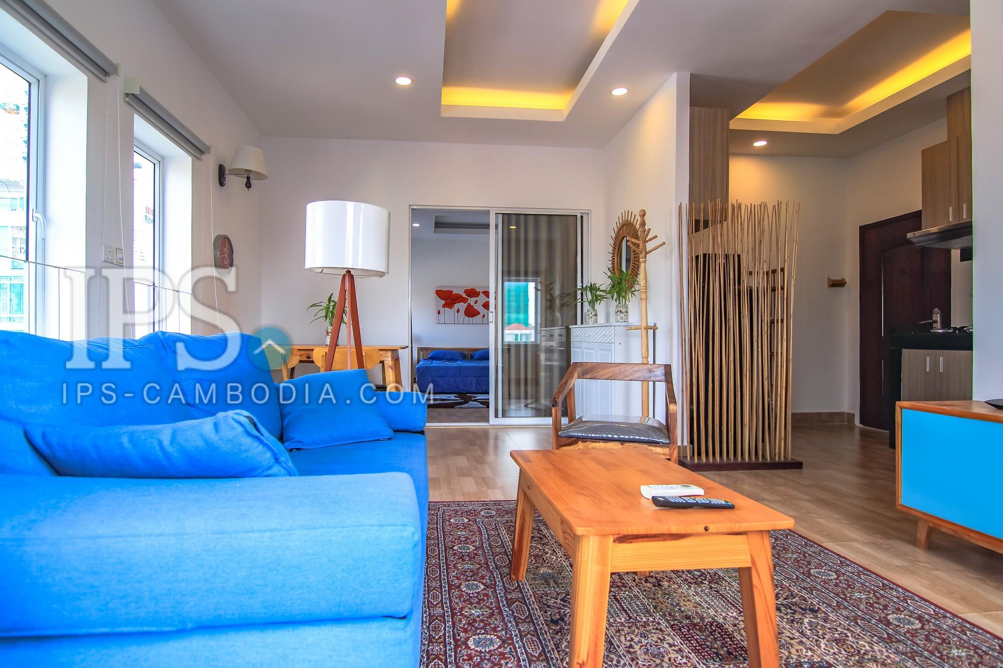 Exclusive 1 Bedroom Apartment For Rent - Boeung Trabek, Phnom Penh