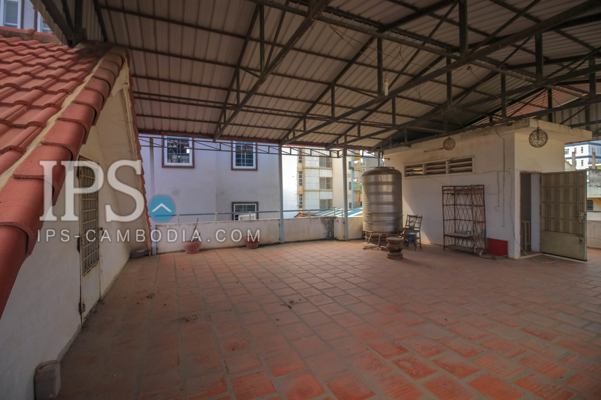 5 Bedroom Colonial Villa For Rent - BKK3, Phnom Penh
