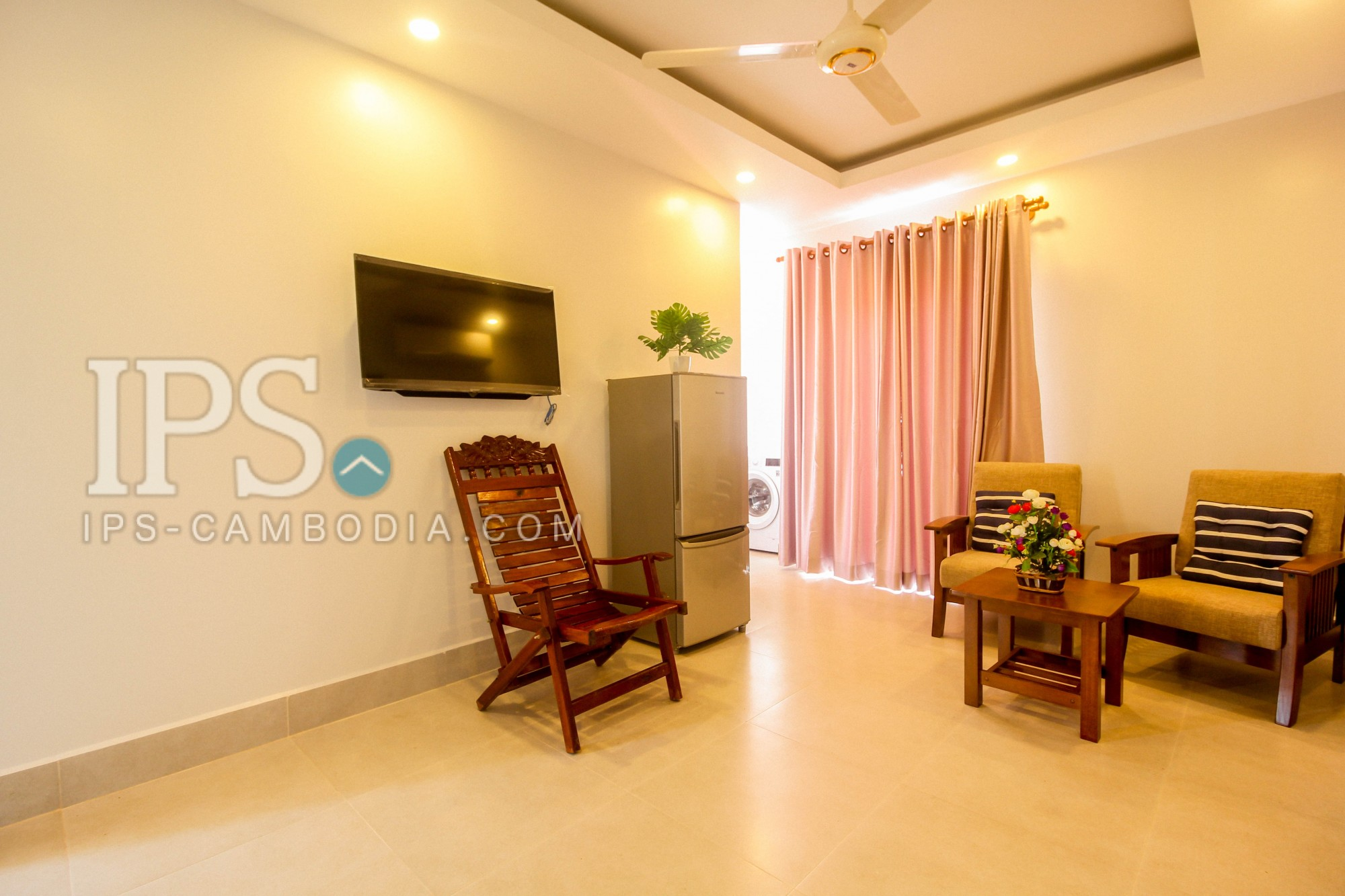 Newly 2 Bed Room Apartment For Rent in Wat Damnak, Siem Reap