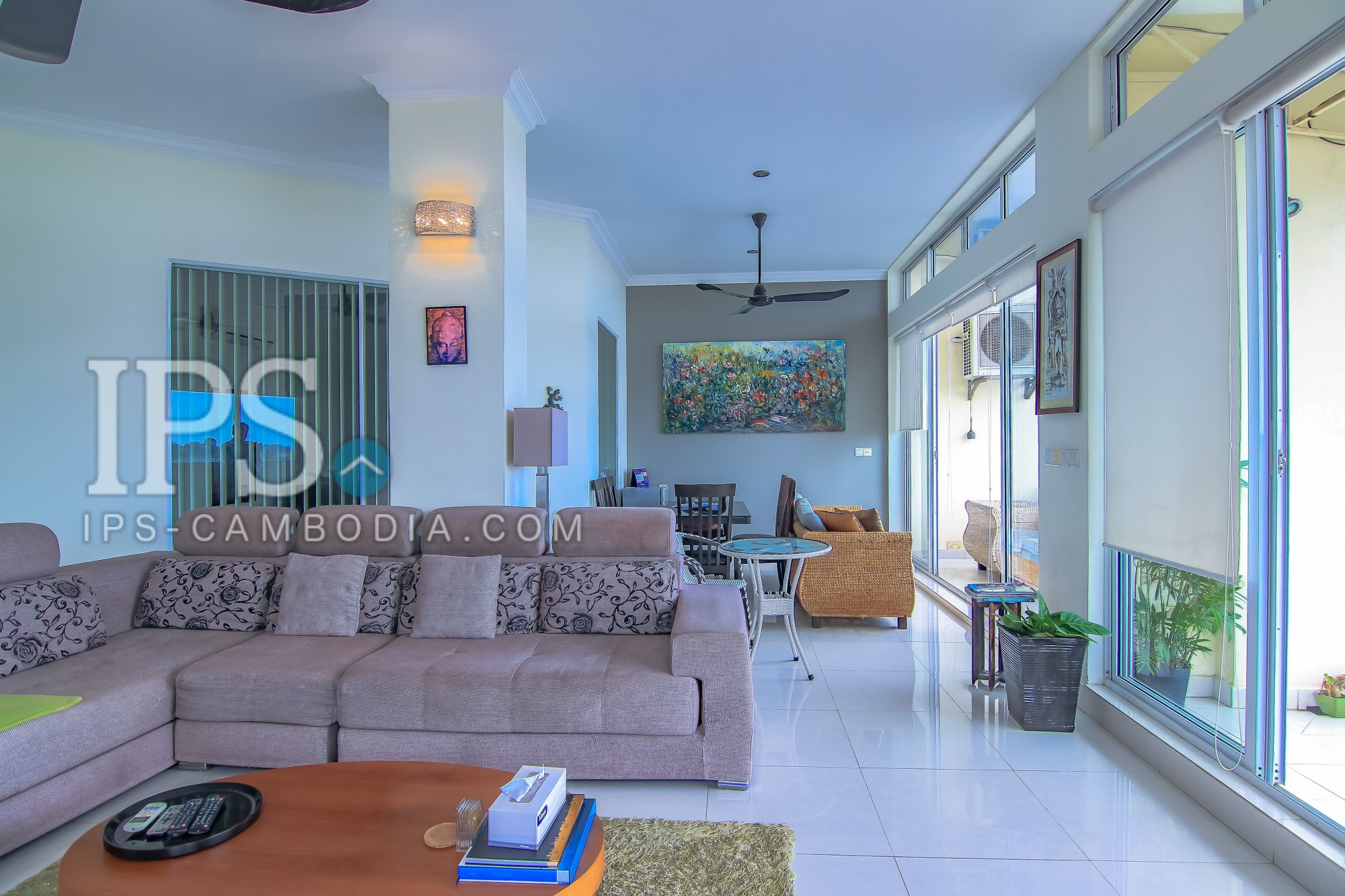 2 Bedrooms Plus 1 Office Renovated Flat For Sale - Riverside