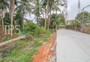 1500 sqm Land For Sale - Sihanoukville, Near wat Leur