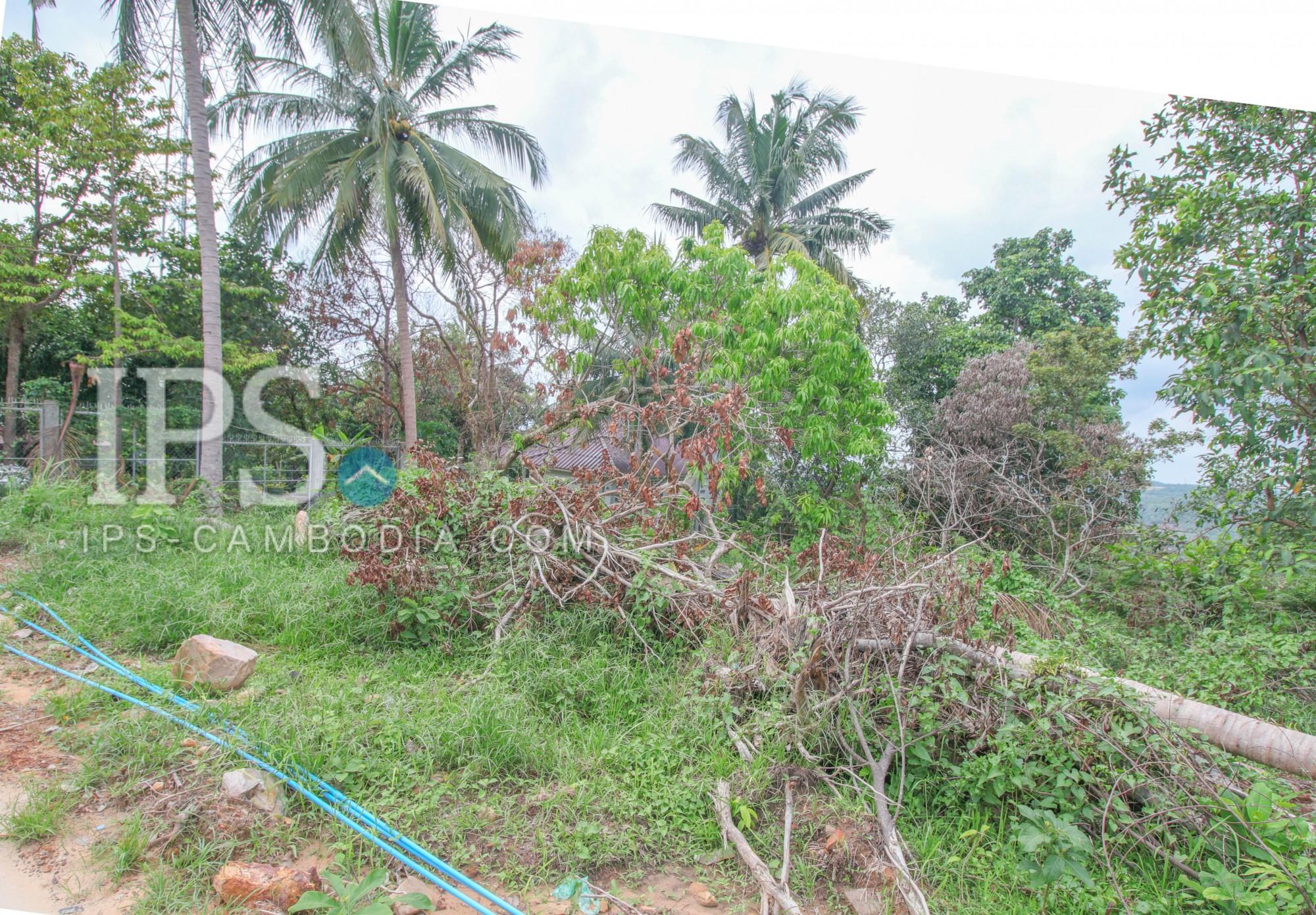 1500 sqm Land For Sale - Sihanoukville, Near wat Leur