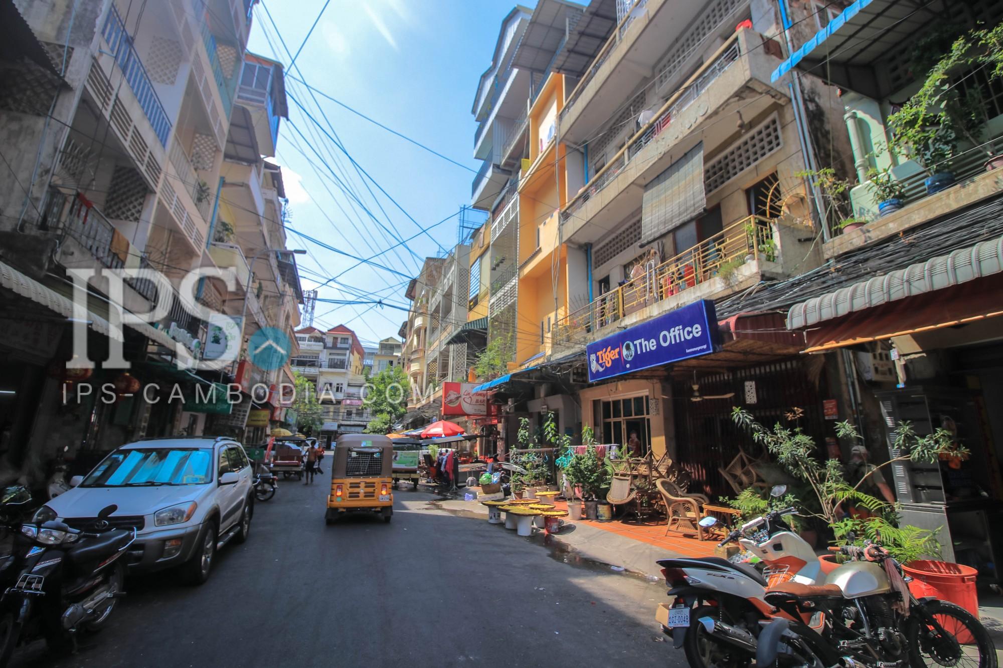 4 Floor House For Sale - Daun Penh, Phnom Penh