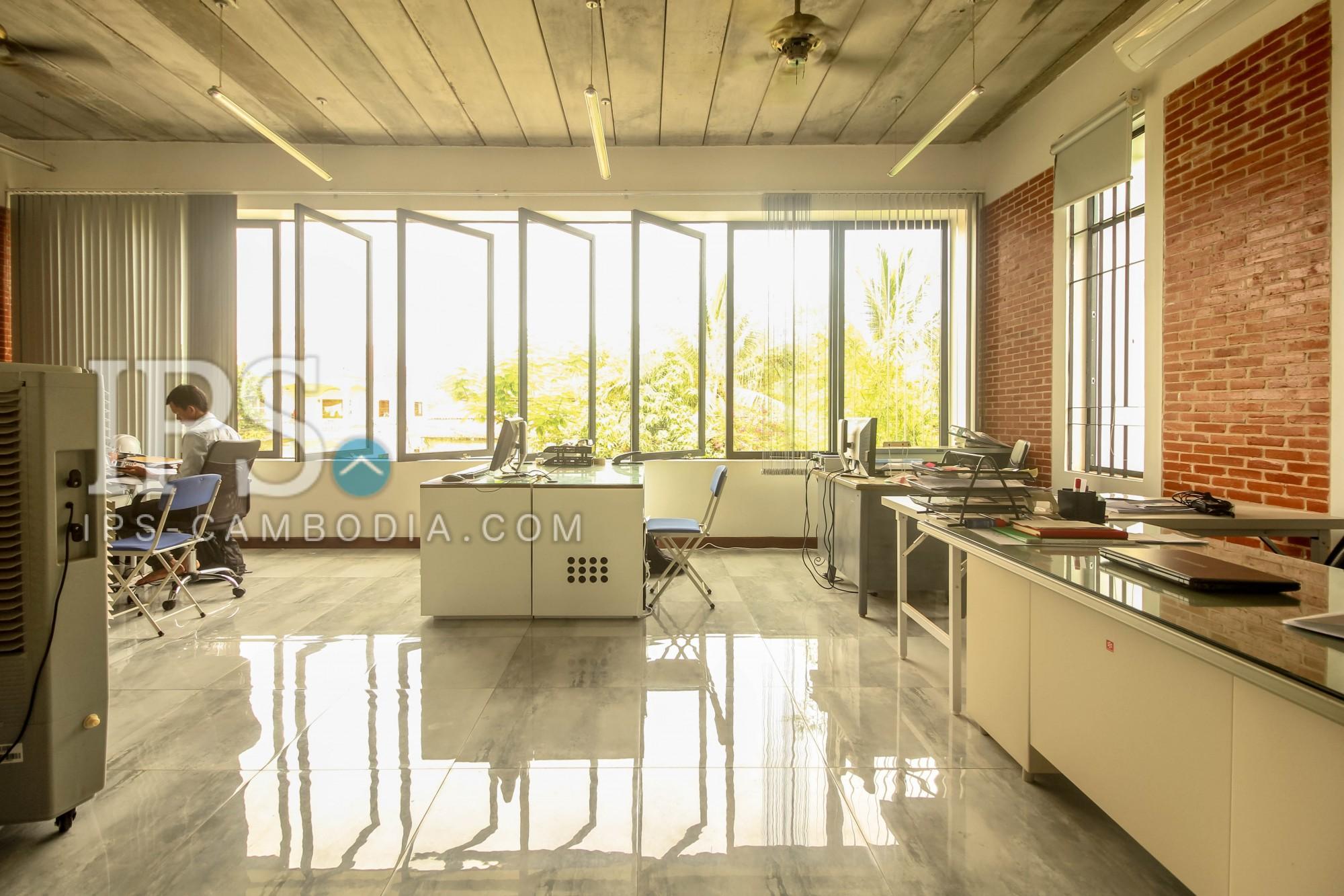 80sqm Office Space  For Rent - Slor Kram, Siem Reap