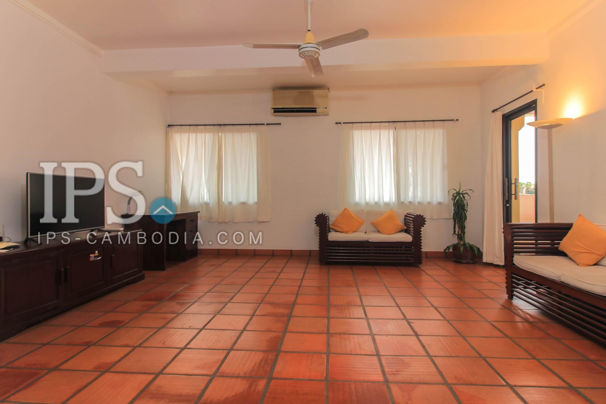 1 Bedroom Services Apartment For Rent - Tonle Bassac, Phnom Penh