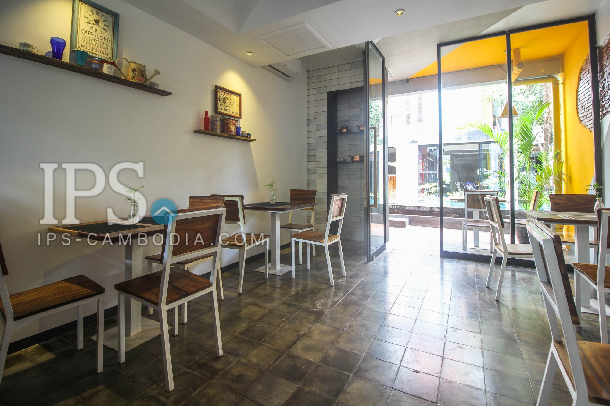 15 Rooms Boutique Hotel For Rent - Svay Dangkum, Siem Reap