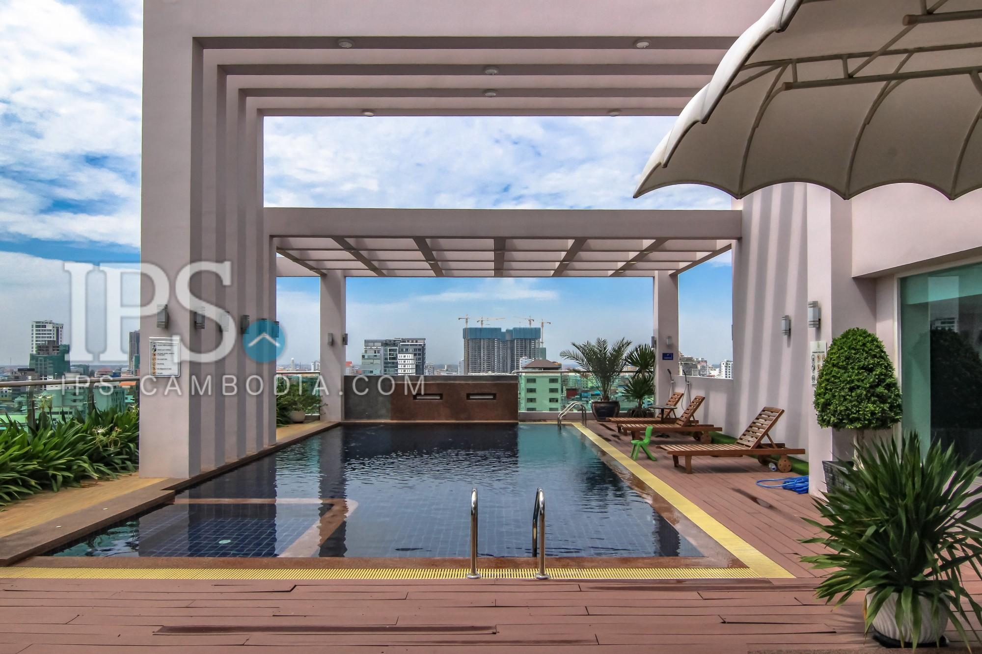 Three Bedrooms in BKK3 - Phnom Penh Apartments For Rent