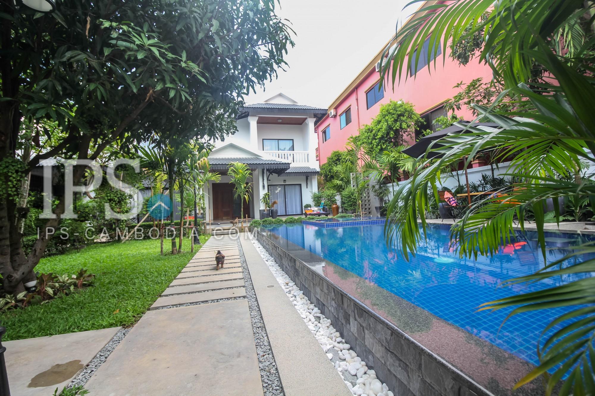 5 Bedroom Villa For Rent - Kouk Chak, Siem Reap