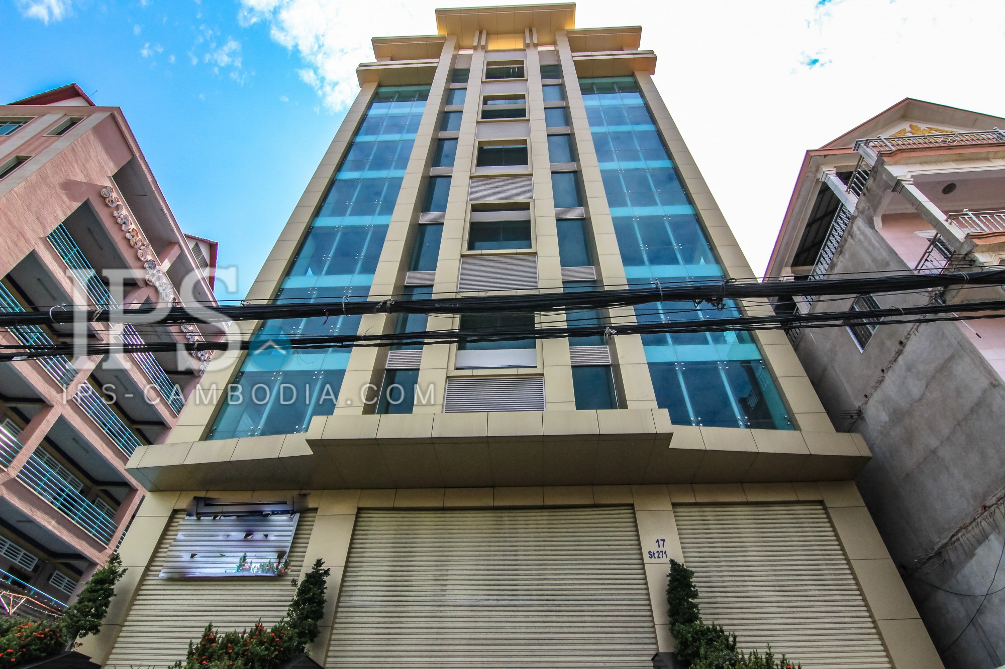 10 Floors Commercial Building  Space for Sale - Teuk Thla, Phnom Penh