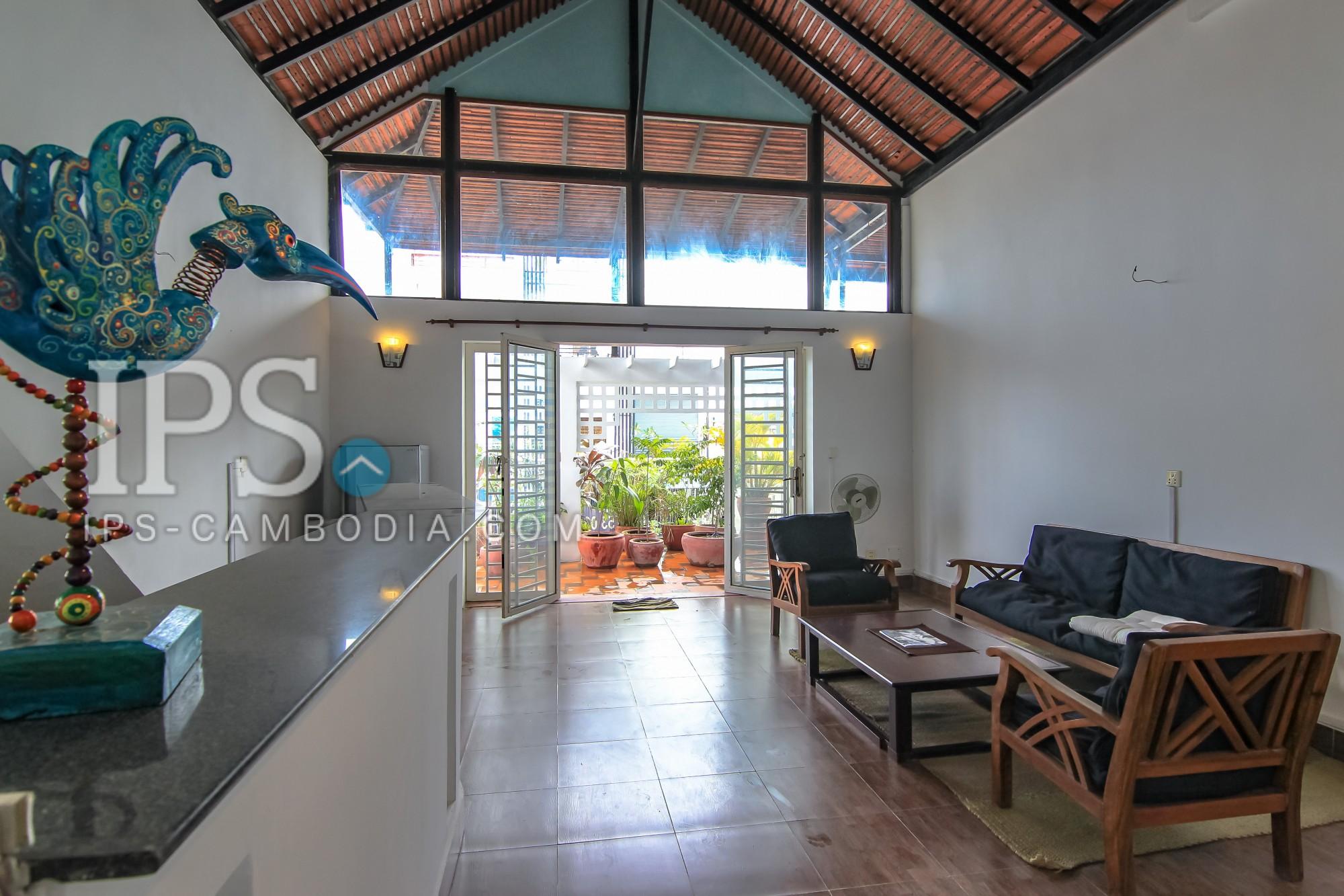 2 Bedrooms Plus Rooftop Terrace Flat For Sale - Wat Phnom,Phnom Penh
