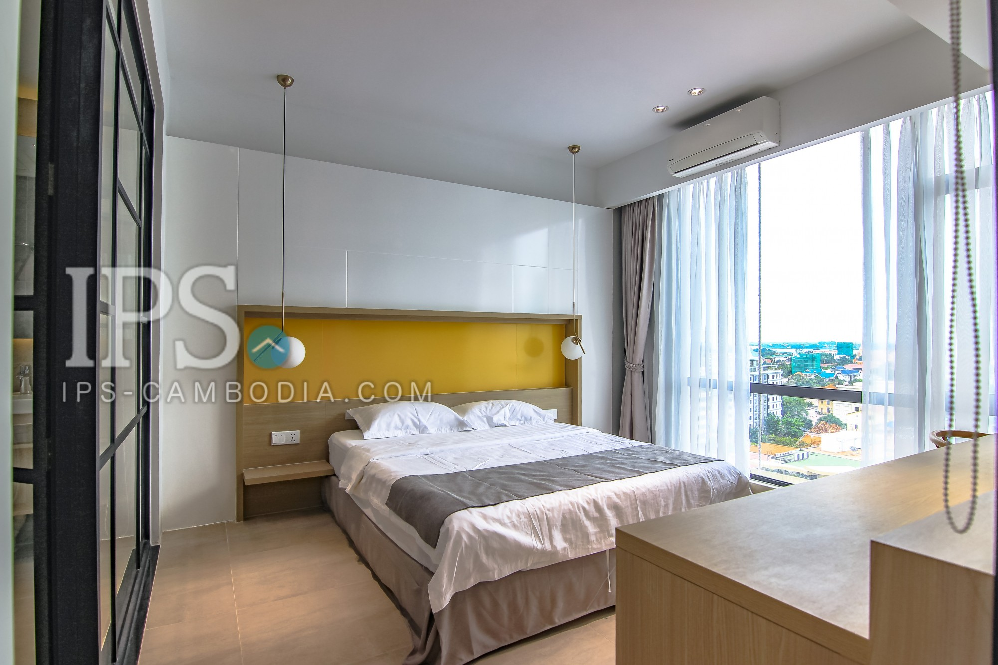 47 Sqm 1 Bedroom Apartment for Rent - BKK1